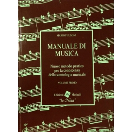 FULGONI MANUALE DI MUSICA VOLUME PRIMO