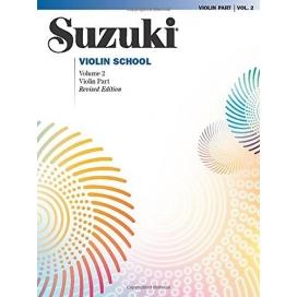 SUZUKI VIOLIN SCHOOL VOLUME 2 MB38