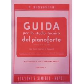 ROSSOMANDI GUIDA STUDIO PIANOFORTE V.1 MK233