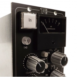 TK AUDIO BC501 STEREO BUSS COMPRESSOR 500 SERIES