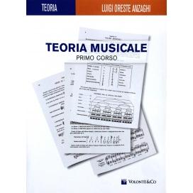 ANZAGHI TEORIA MUSICALE 1° CORSO