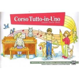 PALMER/MANUS CORSO TUTTO IN UNO PIANOFORTE LIVELLO 1 MB105