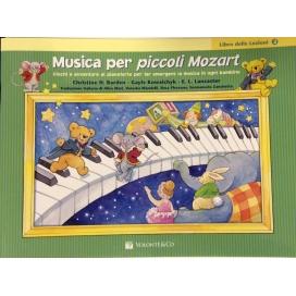 BARDEN MUSICA PER PICCOLI MOZART LIBRO LEZIONI VOLUME 2