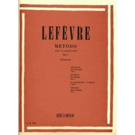 LEFEVRE METODO CLARINETTO VOLUME 1