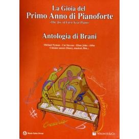 AAVV GIOIA PRIMO ANNO PIANOFORTE - ANTOLOGIA MB340