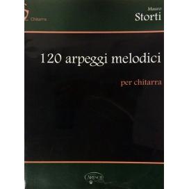STORTI 120 ARPEGGI MELODICI MB499