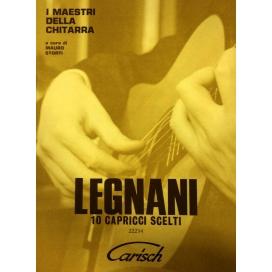 LEGNANI 10 CAPRICCI - REVISIONE STORTI - MB542