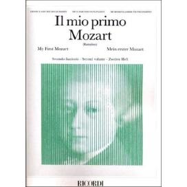 MOZART W.A. MIO PRIMO MOZART FASCICOLO 1 - 12 PEZZI FACILI PER PIANOFORTE ER1955