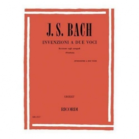 BACH J.S. INVENZIONI A DUE VOCI - PER PIANOFORTE - ER2266.1