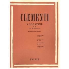CLEMENTI M. 6 SONATINE OP.36 - PER PIANOFORTE ER18