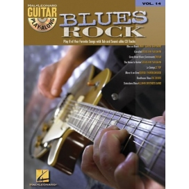 AAVV GUITAR PLAY ALONG V. 14: BLUES ROCK + CD LI505352