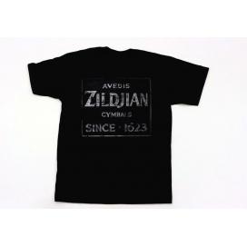 ZILDJIAN T-SHIRT QUINCY VINTAGE SIGN L