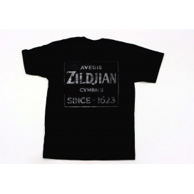 ZILDJIAN T-SHIRT QUINCY VINTAGE SIGN M
