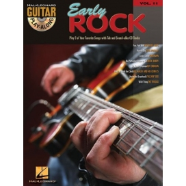 AAVV GUITAR PLAY ALONG V. 11: EARLY ROCK + CD MLC53