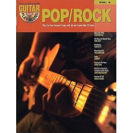 AAVV GUITAR PLAY ALONG V. 4: POP/ROCK + CD UFO845