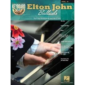 AAVV KEYBOARD PLAY ALONG VOL 9 ELTON JOHN BALLADS + CD
