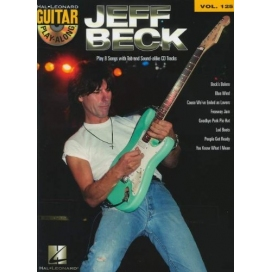 AAVV GUITAR PLAY ALONG VOLUME 125 JEFF BECK + CD