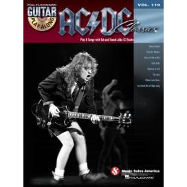 AAVV GUITAR PLAY ALONG V.119 AC/DC CALSSICS + CD D60003900