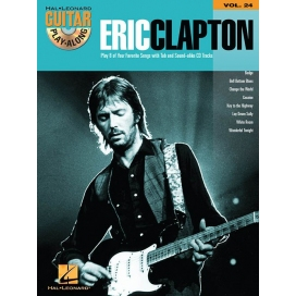 AAVV GUITAR PLAY ALONG VOLUME 24 ERIC CLAPTON + CD