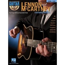 AAVV GUITAR PLAY ALONG V.123 LENNON MCCARTNEY ACOUSTIC GUITAR + CD ML98766