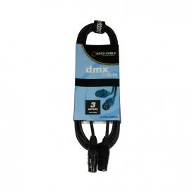 AMERICAN DJ AC-DMX3/3 3 POLI XLRM/3 POLI XLR F DMX