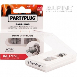ALPINE PARTYPLUG SILVER EDITION MUSIC EARPLUG