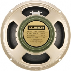 CELESTION G12M GREENBACK 16 OHMS 25W