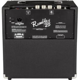 FENDER RUMBLE BASS 25 V3 BLACK SILVER