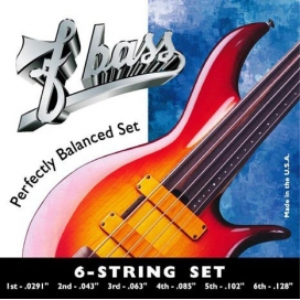 F BASS 6 STRING SET