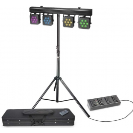 CAMEO PAR13T3 KIT LED + 4 PEDAL FOOTSWITCH + STAND