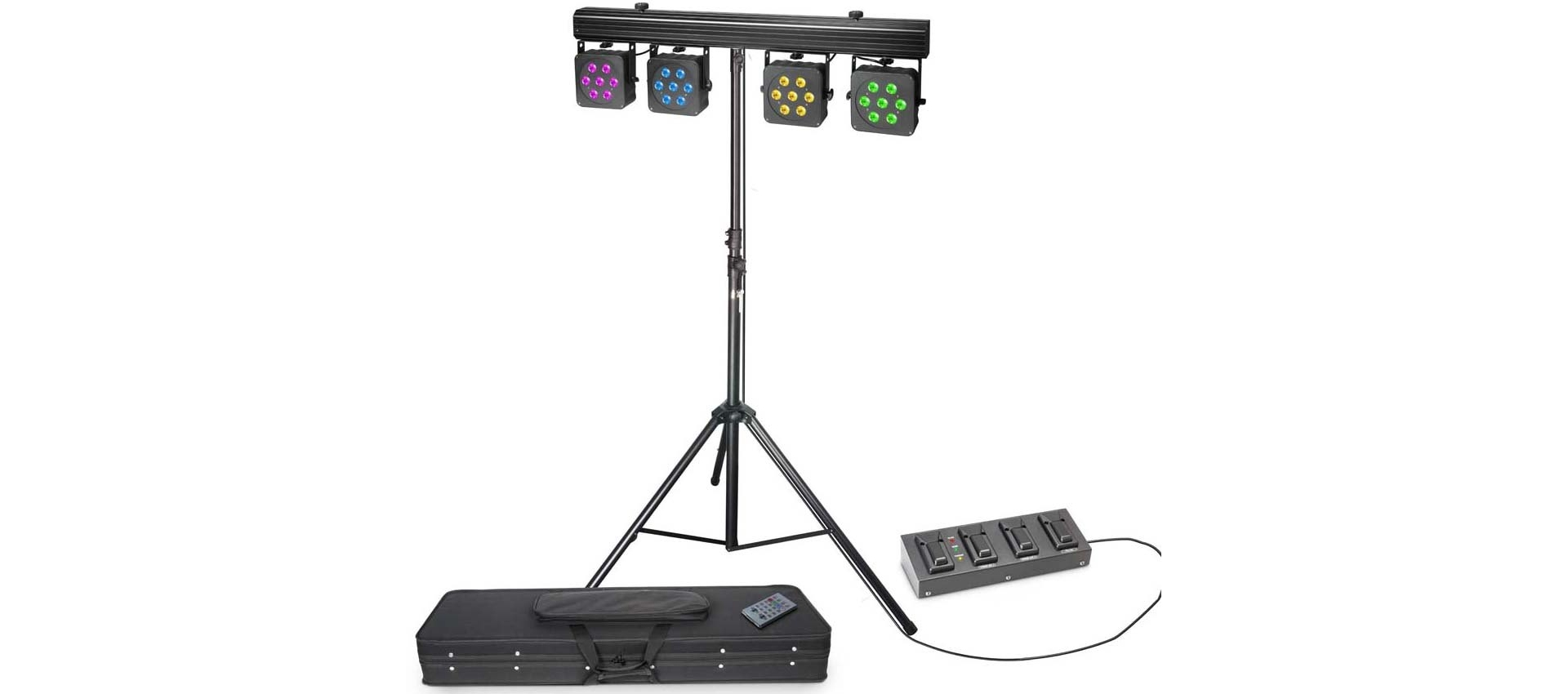 cameo multi par 3 set   4 pedal footswitch   stand