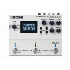BOSS DD-500 DIGITAL DELAY 12 DELAY MODES