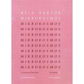 BARTOK MIKROKOSMOS VOL 2 MK360