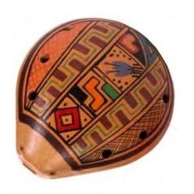 AFROTON AOK 1882 OCARINA INKA DESIGN - PERU'