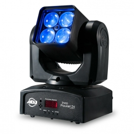 AMERICAN DJ INNO POCKET Z4 TESTA MOBILE 4 X10W LED RGBW