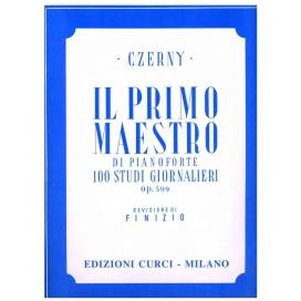CZERNY PRIMO MAESTRO DI PIANO OP.599 EC4263