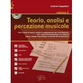 CAPPELLARI TEORIA ANALISI E PERCEZIONE MUSICALE VOL.2 + CD