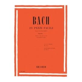 BACH 23 PEZZI FACILI PER PIANOFORTE + CD