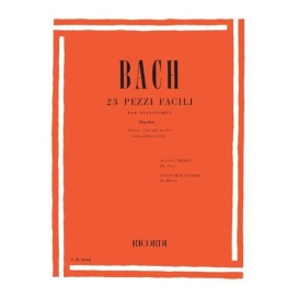 BACH 23 PEZZI FACILI PER PIANOFORTE + CD - ER45001