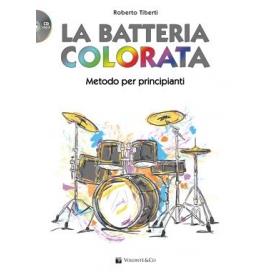 TIBERTI LA BATTERIA COLORATA + CD