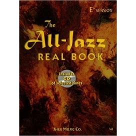 AAVV ALL-JAZZ REAL BOOK Eb + CD