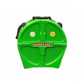 HARDCASE HNP14S-LG SNARE CASE LIGHT GREEN