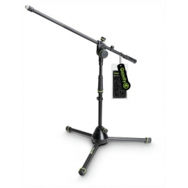 GRAVITY MS4221B SHORT MICROPHONE STAND 2 POINT ADJUSTMENT