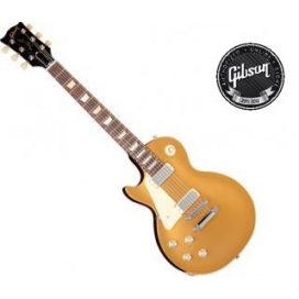 GIBSON LES PAUL STUDIO 70'S TRIBUTE GOLD TOP MANCINA LEFT HANDED