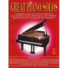 AAVV GREAT PIANO SOLOS RED ML901144