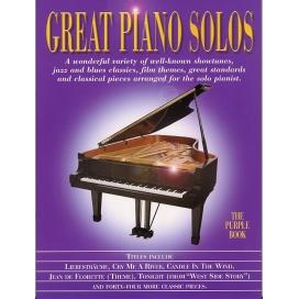 AAVV GREAT PIANO SOLOS PURPLE ML901143