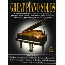 AAVV GREAT PIANO SOLOS BLACK ML901026