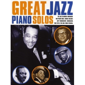 AAVV GREAT JAZZ PIANO SOLOS MLC297
