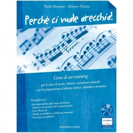 BERTASSI PERCHE' CI VUOLE ORECCHIO + CD MP3 EAR TRAINING - EC11805