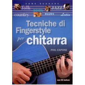 CAPONE TECNICHE DI FINGERSTYLE + CD 9788865200391